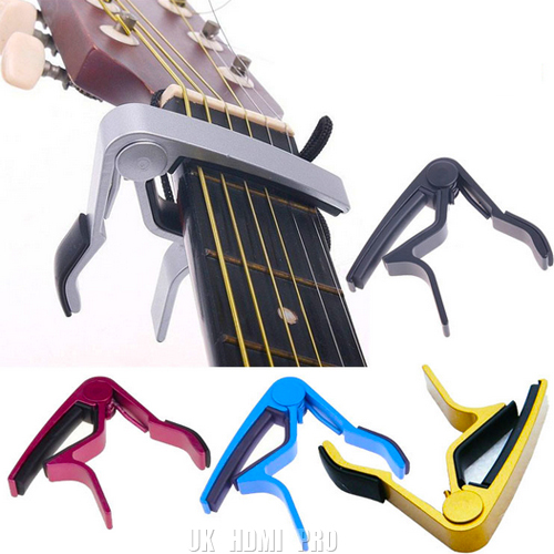 QUICK-RELEASE-ALUMINIUM-METAL-TRIGGER-CAPO-FOR-ACOUSTIC-OR-ELECTRIC-GUITAR
